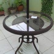 Mesa de 80 cm para Guarda Sol